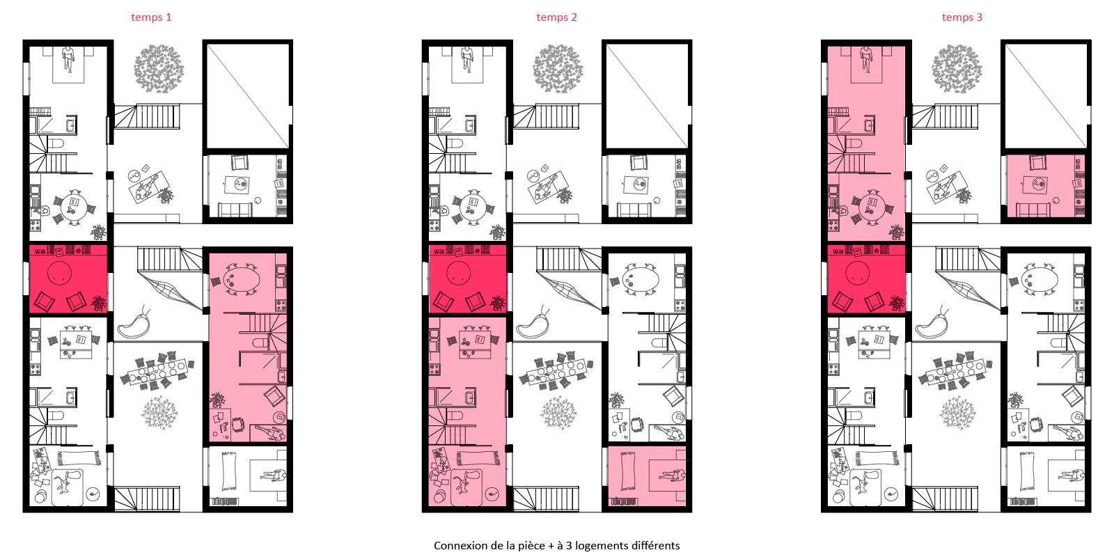 lona sophie delhay architecte. Black Bedroom Furniture Sets. Home Design Ideas