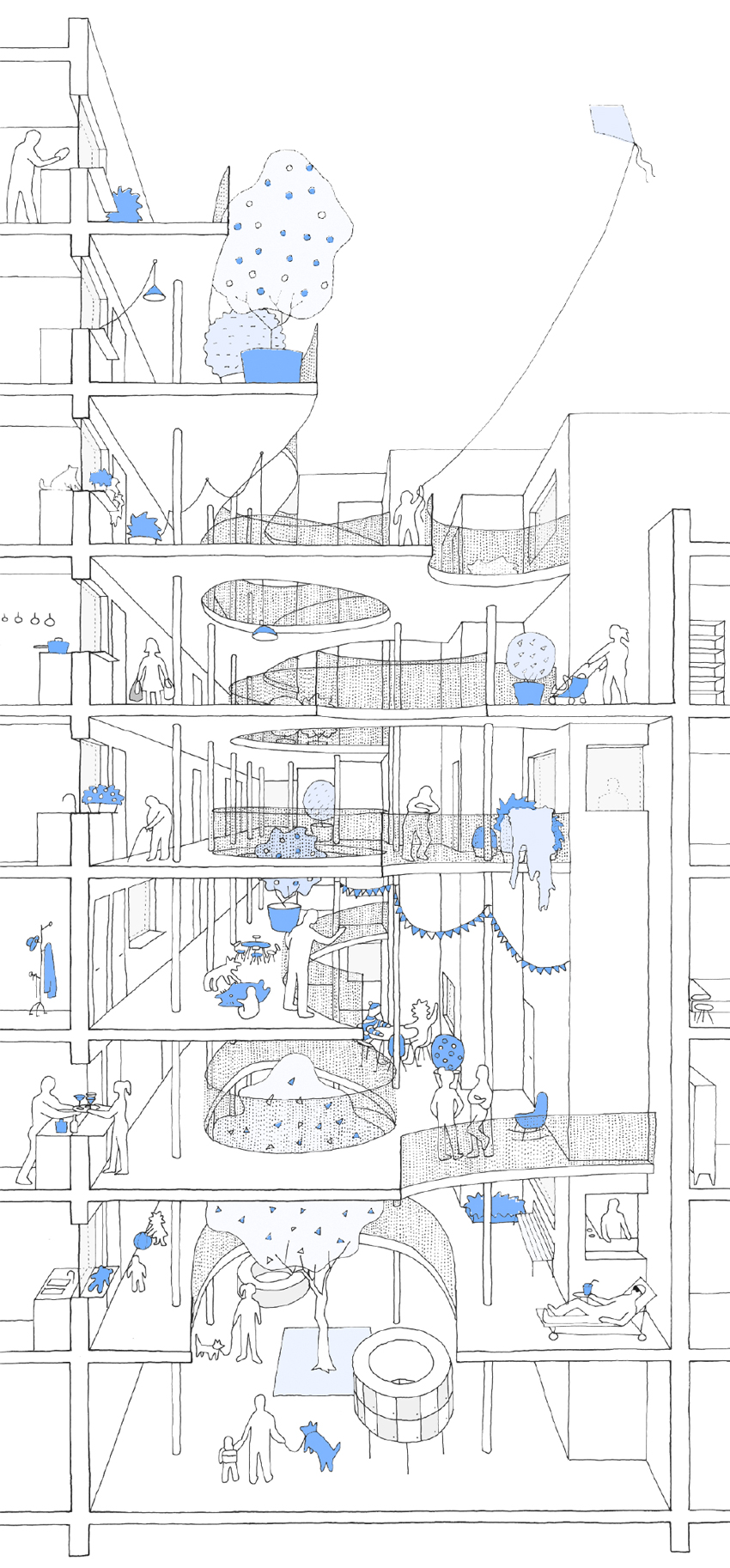 lobou sophie delhay architecte. Black Bedroom Furniture Sets. Home Design Ideas
