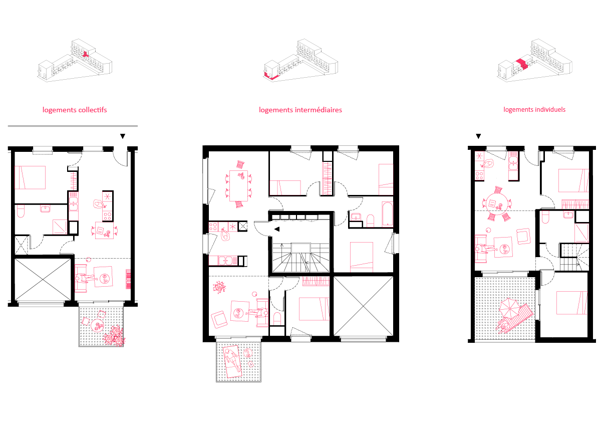mixit sophie delhay architecte. Black Bedroom Furniture Sets. Home Design Ideas